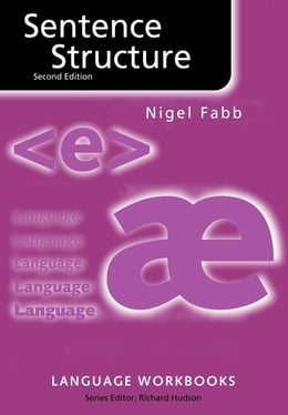 Book Sentence Structure by Fabb, Nigel
