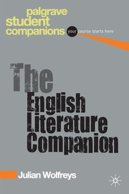 Book The English Literature Companion by Julian Wolfreys
