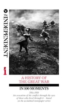 A HISTORY OF THE GREAT WAR IN 100 MOMENTS: An evocation of the conflict through the eyes of those who lived through it – based on the acclaimed by Richard Askwith