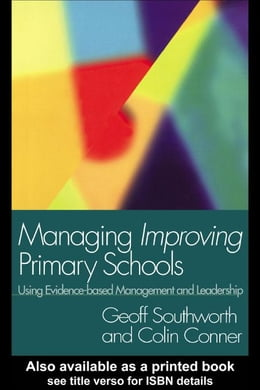 Book Managing Improving Primary Schools by Southworth, Geoff