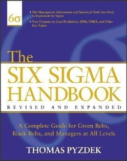 Book The Six Sigma Handbook, Revised and Expanded by Pyzdek, Thomas