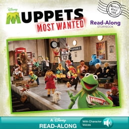Book Muppets Most Wanted Read-Along Storybook by Disney Book Group