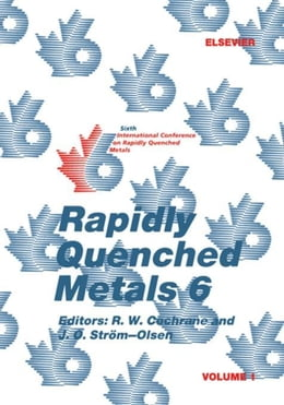 Book Rapidly Quenched Metals 6 by Cochrane, R.W.