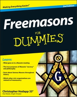 Book Freemasons For Dummies by Christopher Hodapp