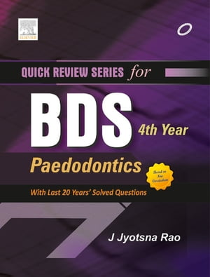 QRS for BDS 4th Year Pedodontics