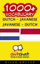 1000+ Vocabulary Dutch - Javanese by Gilad Soffer