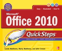 Microsoft Office 2010 QuickSteps