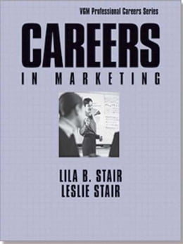 Book Careers In Marketing by Stair, Lila