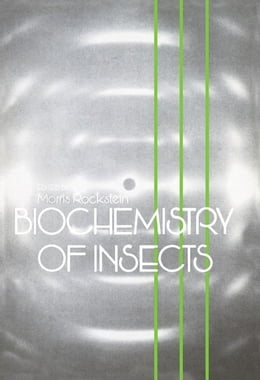 Book Biochemistry of Insects by Rockstein, Morris