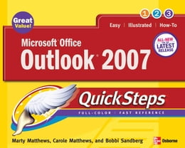 Book Microsoft Office Outlook 2007 QuickSteps by Matthews, Marty