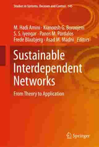 Sustainable Interdependent Networks: From Theory to Application by M. Hadi Amini