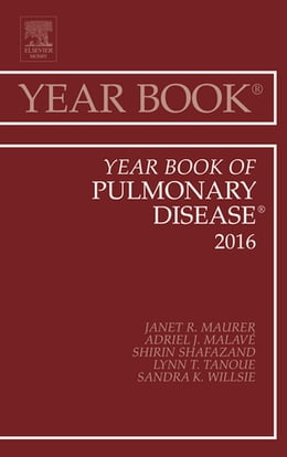 Book Year Book of Pulmonary Disease 2016, by Janet R. Maurer