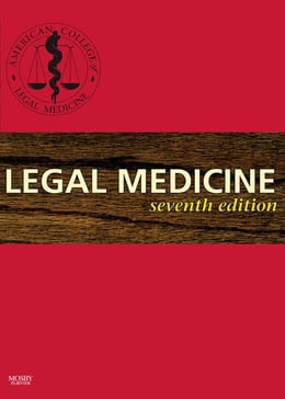 Book Legal Medicine by ACLM