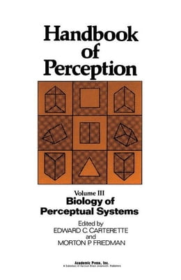 Book Biology of Perceptual Systems by Carterette, Edward