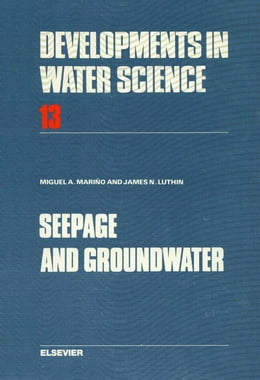 Book Seepage and Groundwater by Mariño, M.A.