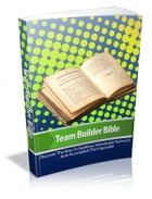 Team Builder Bible by Anonymous