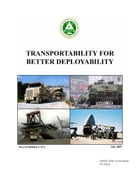 Transportability for Better Deployability TEA Pamphlet 70-1 July 2005 by United States Government  US Army