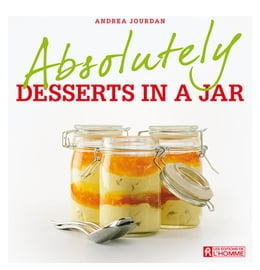Book Absolutely desserts in a jar by Andrea Jourdan