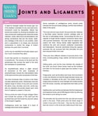 Joints and Ligaments (Speedy Study Guides) by Speedy Publishing