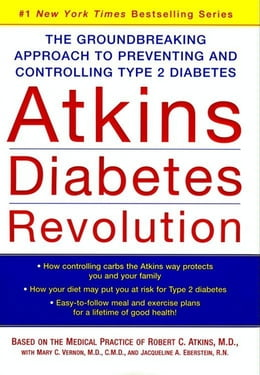 Book Atkins Diabetes Revolution: The Groundbreaking Approach to Preventing and Controlling Type 2… by Robert C. Atkins, M.D.