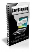 How TO Easy Blogging by Jimmy  Cai