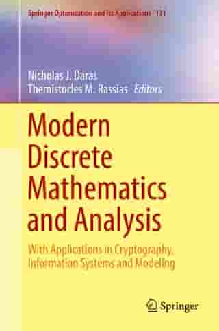 Modern Discrete Mathematics and Analysis: With Applications in Cryptography, Information Systems and Modeling