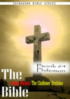 The Bible Douay-Rheims, the Challoner Revision,Book 64 Philemon by Zhingoora Bible Series