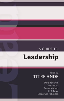 Book ISG 43: A Guide to Leadership by Titre Ande