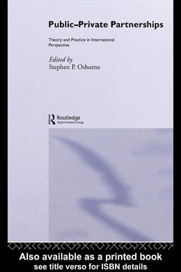 Book Public-Private Partnerships: Theory and Practice in International Perspective by Osborne, Stephen