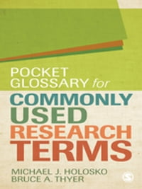 Pocket Glossary for Commonly Used Research Terms