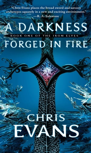 A Darkness Forged in Fire: Book One of the Iron Elves by Chris Evans