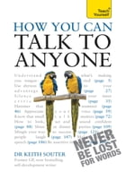 How You Can Talk To Anyone: Teach Yourself by Keith Souter
