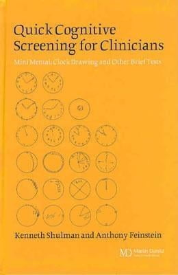 Book Quick Cognitive Screening for Clinicians: Clock-drawing and Other Brief Tests by Shulman, Kenneth I.