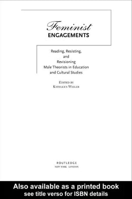 Book Feminist Engagements by Weiler, Kathleen