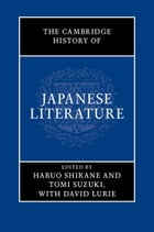 The Cambridge History of Japanese Literature