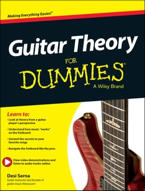 Guitar Theory For Dummies Book + Online Video & Audio Instruction
