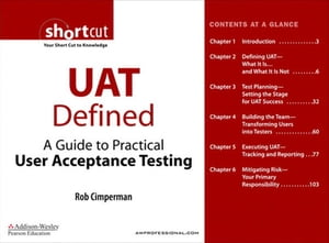 UAT Defined A Guide to Practical User Acceptance Testing (Digital Short Cut)
