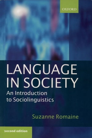 Language in Society An Introduction to Sociolinguistics
