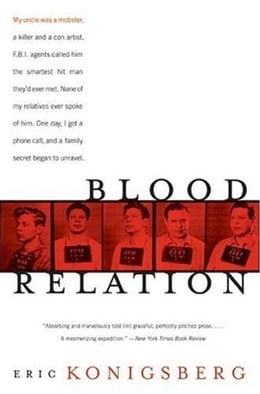 Book Blood Relation by Eric Konigsberg