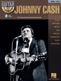 Johnny Cash Songbook: Guitar Play-Along Volume 115