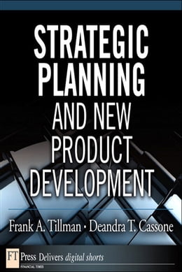 Book Strategic Planning and New Product Development by Frank A. Tillman