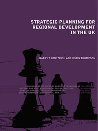 Strategic Planning for Regional Development in the UK