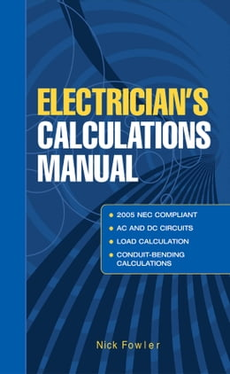 Book Electricians Calculations Manual by Nick Fowler