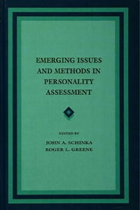Emerging Issues and Methods in Personality Assessment