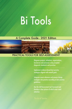 Bi Tools A Complete Guide - 2021 Edition by Gerardus Blokdyk
