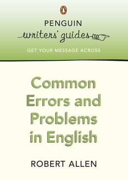 Book Common Errors and Problems in English by Robert Allen