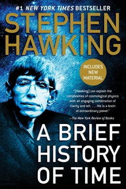 Book A Brief History of Time by Stephen Hawking