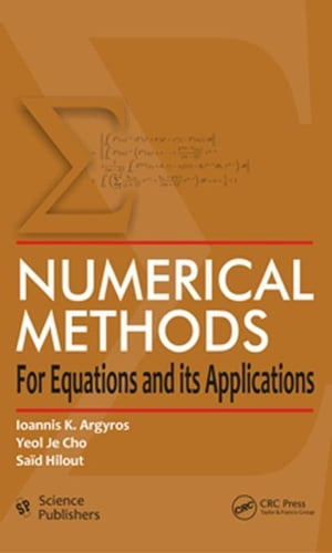 Numerical Methods for Equations and its Applications