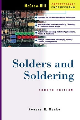 Book Solders and Soldering by Manko, Howard H.