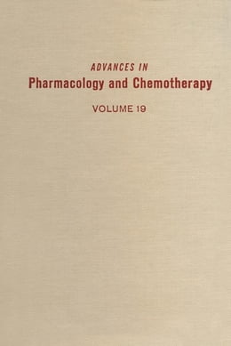 Book Advances in Pharmacology and Chemotherapy by Garattini, Silvio